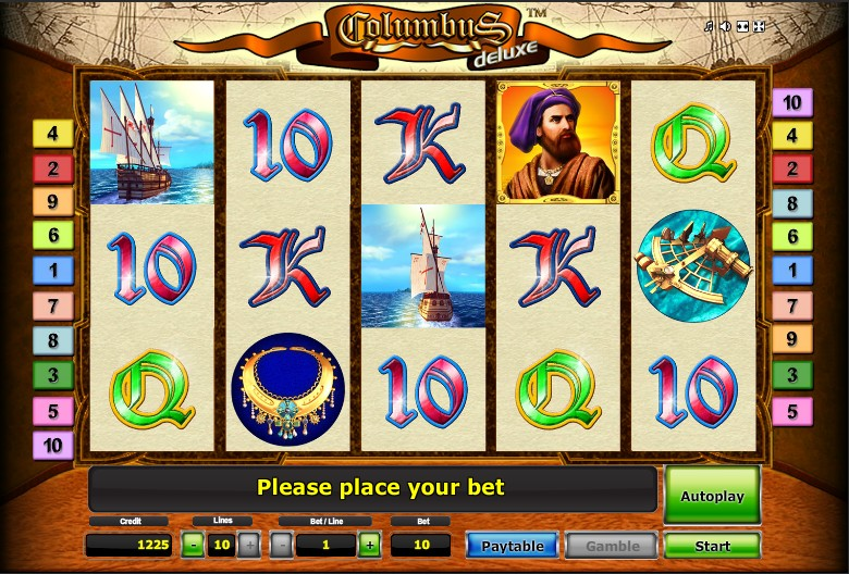 Free online slot games columbus