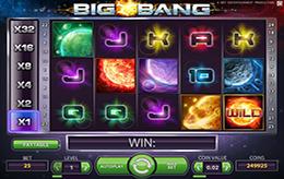 Big bang slots