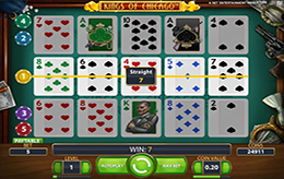 Kings of Chicago Poker/Slot