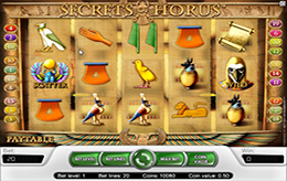 Free Secrets of Horus slot game