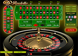 3D Roulette for free