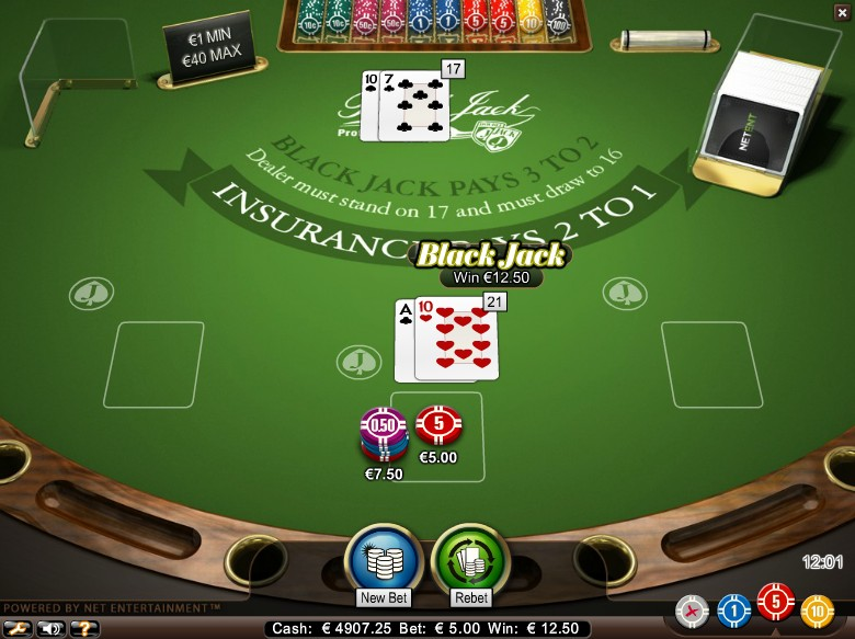Play Free Blackjack For Fun