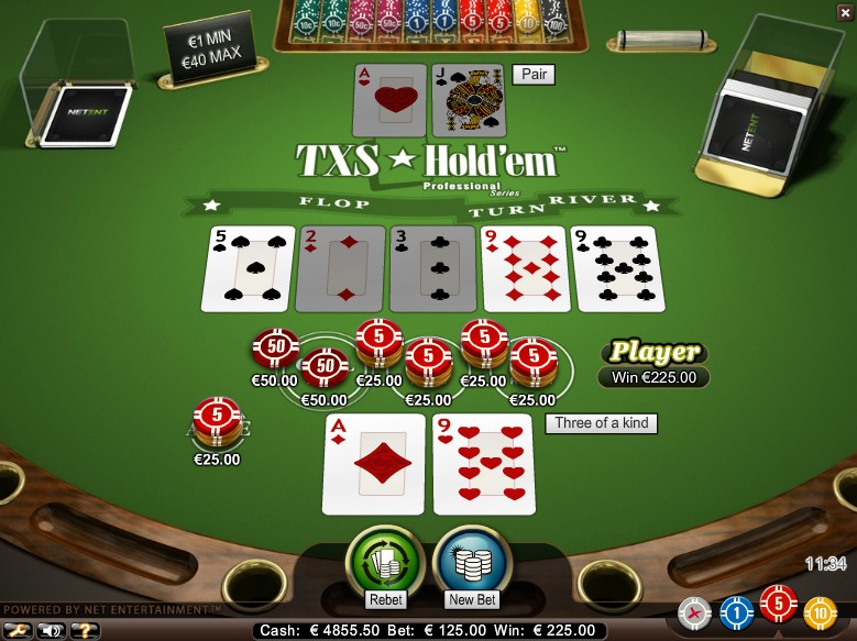 Texas Holdem Casino Game