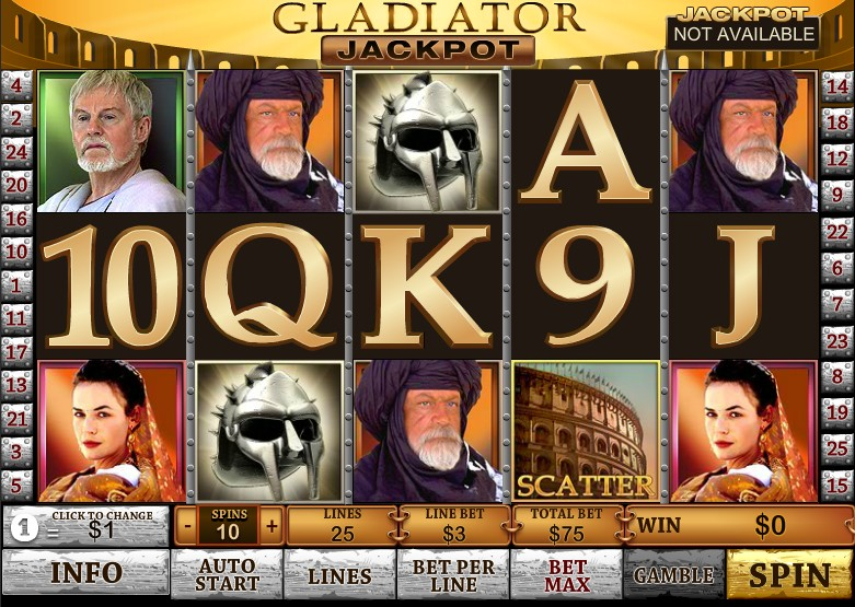 Free Casino Games Gladiator