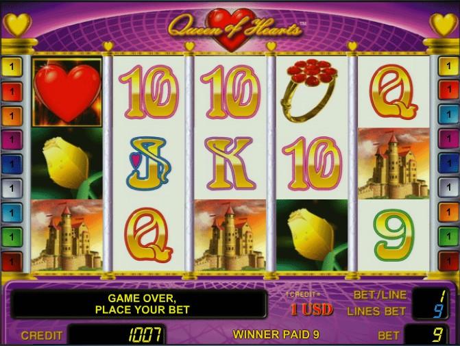 Casino Games Queen Of Hearts