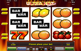 Ultra Hot slots