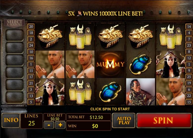 The Mummy Slot Bonus