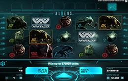 Aliens slots