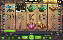 Egyptian Heroes Free Slots