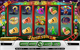 Free Thrill Spin slot game