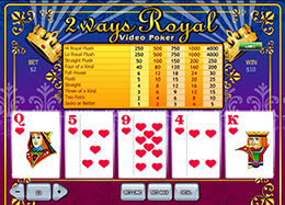 2-way Royal Poker