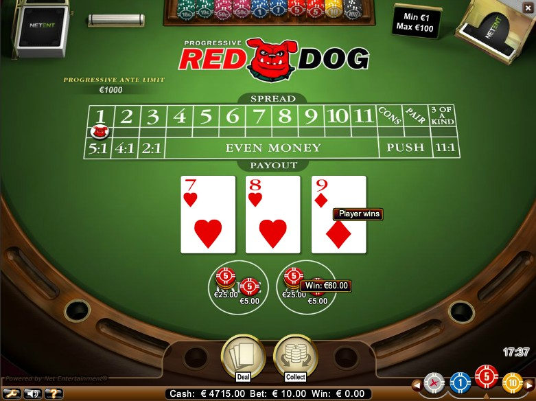 Red Dog Casino Game
