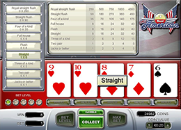 All American Poker Machine