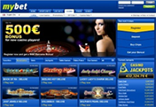 Mybet Online Casino for Real Money