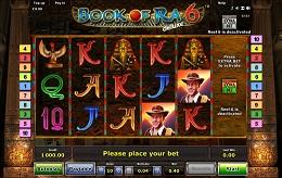 Book Of Ra 6 slots